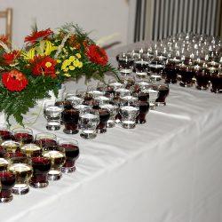 Ochutnávku skalického vína pre rauty, oslavy a firemnné večierky.