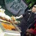 Gastrostánok reštaurácie Srdiečko Skalica pripravil grilované kurčatá.